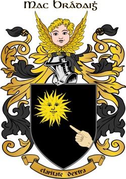 BRADY family crest