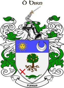 O'BYRNE family crest