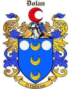 DOLAN family crest