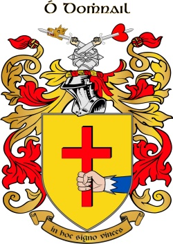 DONNELL family crest