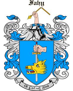 FAHY family crest