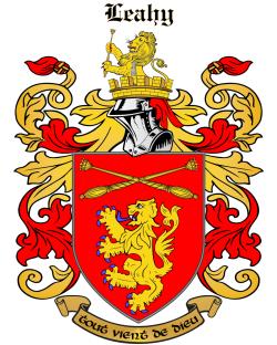 LEAHY family crest