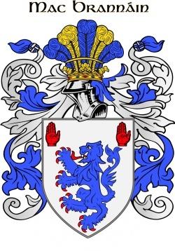 BRENNAN family crest