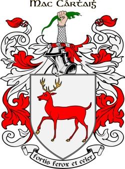 MCCARTHY family crest