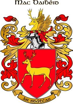 MCDADE family crest