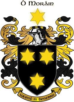 MORAN family crest