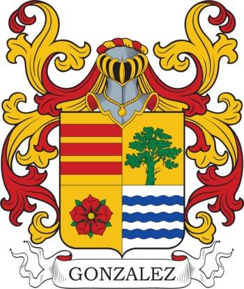 GONZALEZ family crest