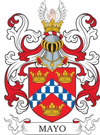 MAYO family crest