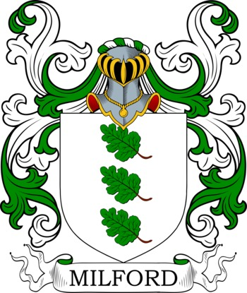 MILFORD family crest