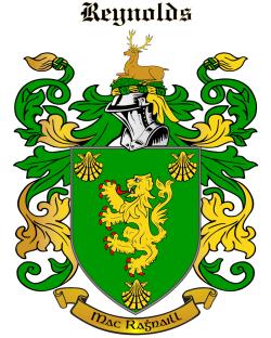 REYNOLDS family crest