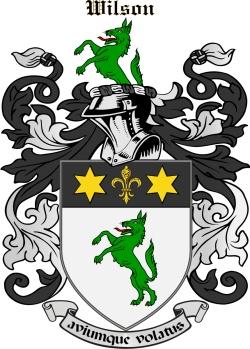 Willson family crest